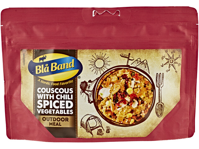 Bla Band Couscous with Chili Spiced Vegetables